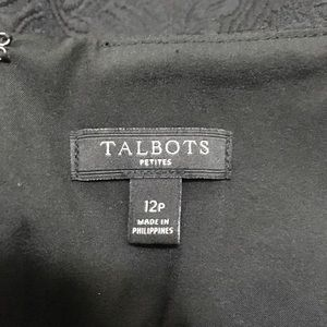 Talbots Dresses - EUC TALBOTS Exquisite Detailing Matelasse Dress